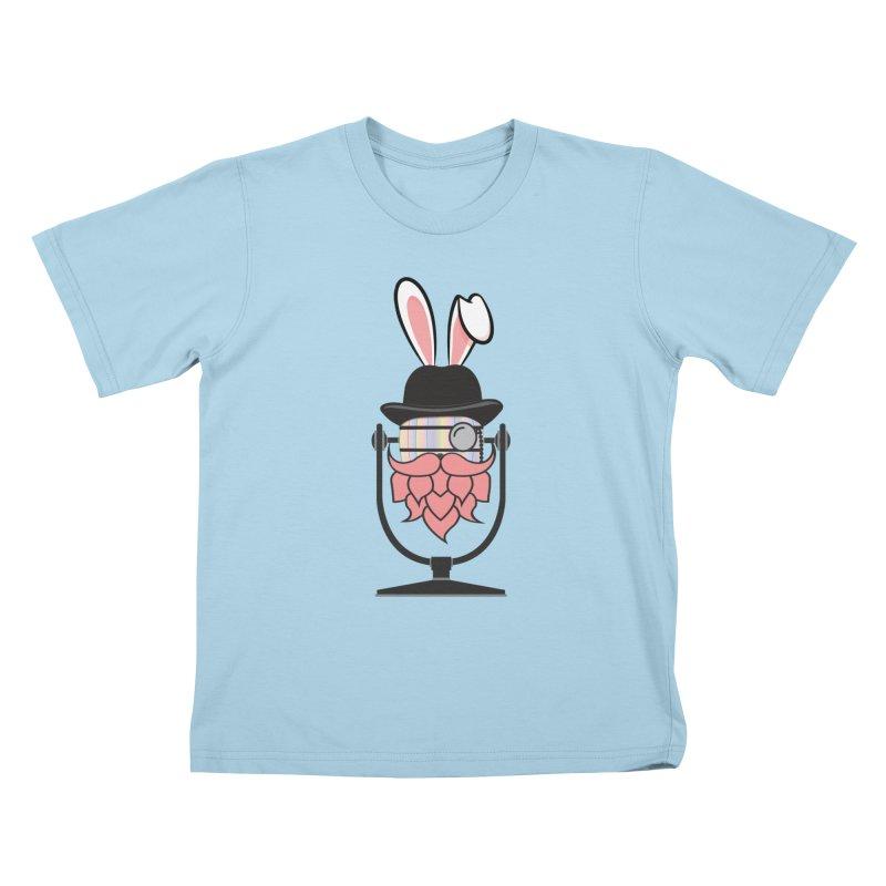 Easter Hoppy Kids T-Shirt by Barrel Chat Podcast Merch Shop