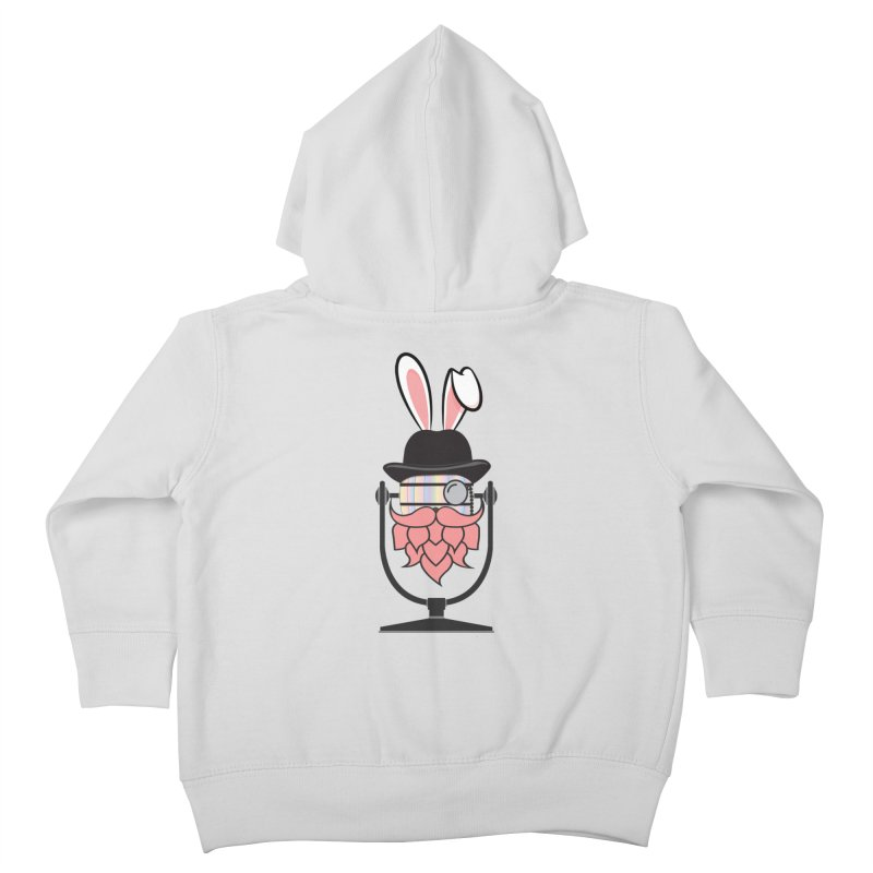 Easter Hoppy Kids Toddler Zip-Up Hoody by Barrel Chat Podcast Merch Shop