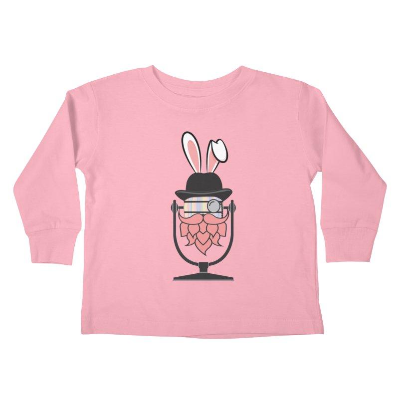 Easter Hoppy Kids Toddler Longsleeve T-Shirt by Barrel Chat Podcast Merch Shop