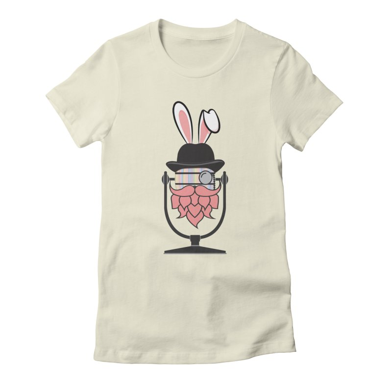 Easter Hoppy Women's Fitted T-Shirt by Barrel Chat Podcast Merch Shop