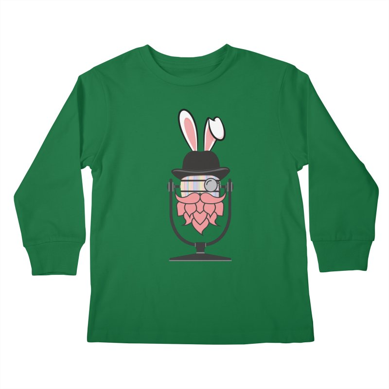 Easter Hoppy Kids Longsleeve T-Shirt by Barrel Chat Podcast Merch Shop