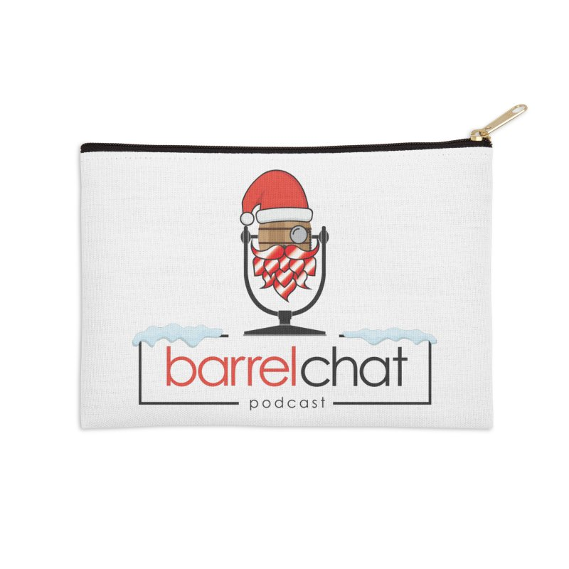 Barrel Chat Podcast - Christmas Accessories Zip Pouch by Barrel Chat Podcast Merch Shop