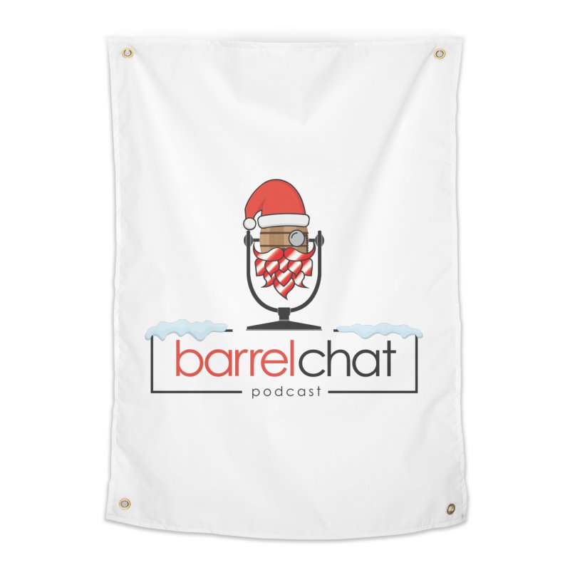 Barrel Chat Podcast - Christmas Home Tapestry by Barrel Chat Podcast Merch Shop