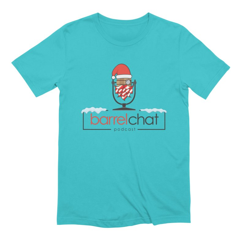 Barrel Chat Podcast - Christmas Men's Extra Soft T-Shirt by Barrel Chat Podcast Merch Shop