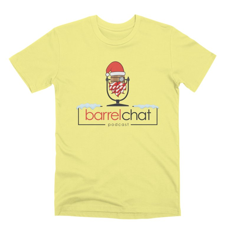 Barrel Chat Podcast - Christmas Men's Premium T-Shirt by Barrel Chat Podcast Merch Shop