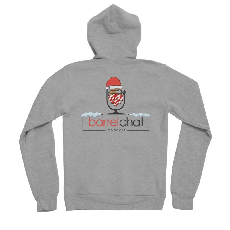 Barrel Chat Podcast - Christmas Women's Sponge Fleece Zip-Up Hoody by Barrel Chat Podcast Merch Shop