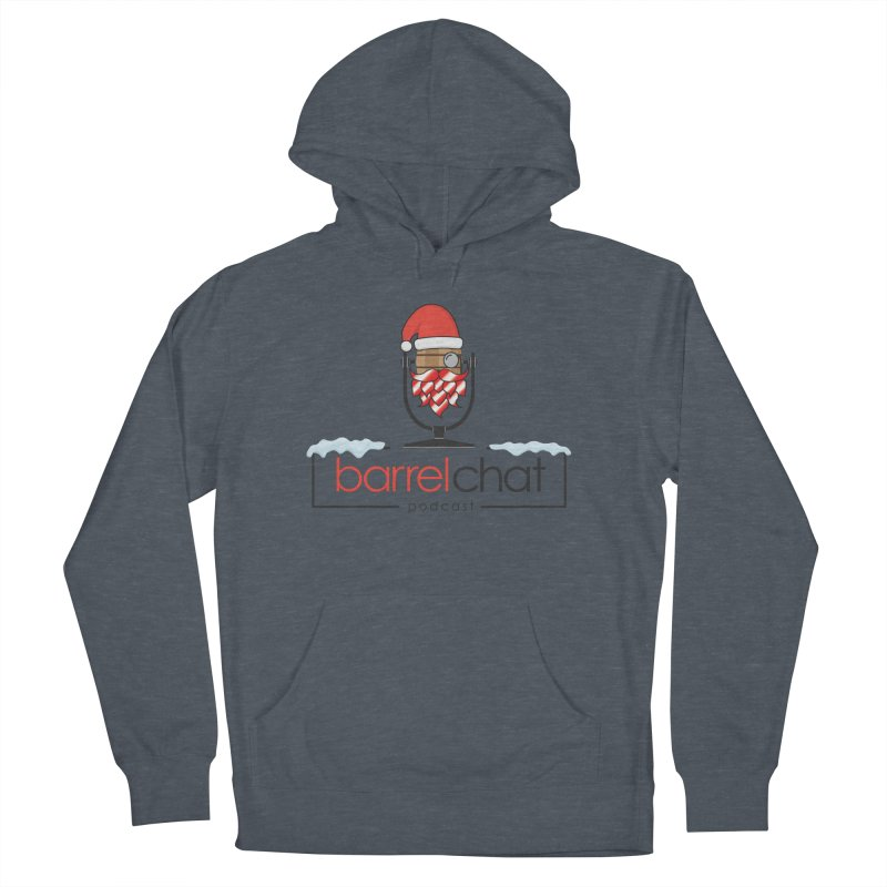 Barrel Chat Podcast - Christmas Men's French Terry Pullover Hoody by Barrel Chat Podcast Merch Shop
