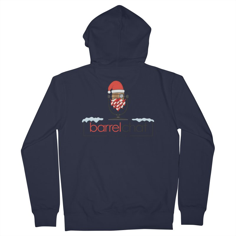 Barrel Chat Podcast - Christmas Women's French Terry Zip-Up Hoody by Barrel Chat Podcast Merch Shop