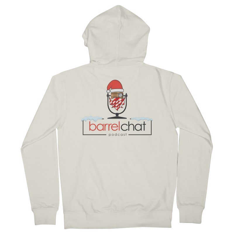 Barrel Chat Podcast - Christmas Men's French Terry Zip-Up Hoody by Barrel Chat Podcast Merch Shop