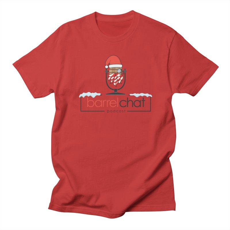 Barrel Chat Podcast - Christmas Men's Regular T-Shirt by Barrel Chat Podcast Merch Shop
