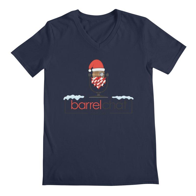 Barrel Chat Podcast - Christmas Men's Regular V-Neck by Barrel Chat Podcast Merch Shop