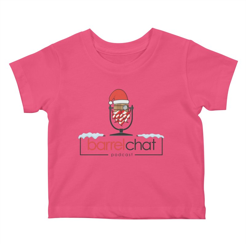 Barrel Chat Podcast - Christmas Kids Baby T-Shirt by Barrel Chat Podcast Merch Shop