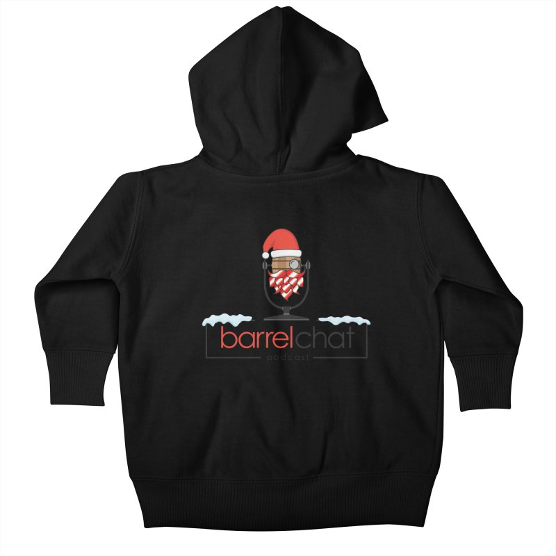 Barrel Chat Podcast - Christmas Kids Baby Zip-Up Hoody by Barrel Chat Podcast Merch Shop