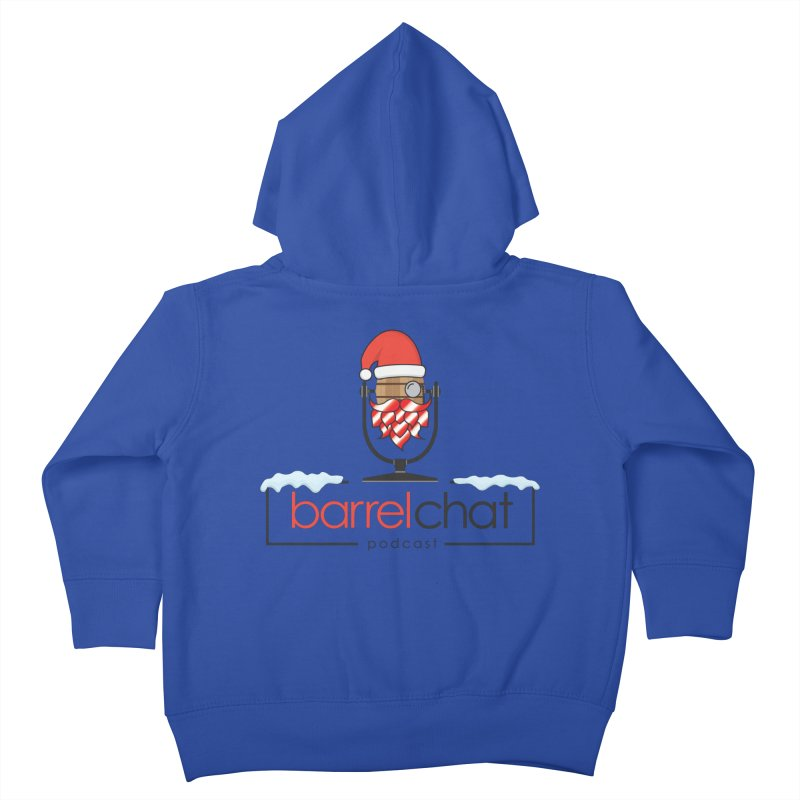 Barrel Chat Podcast - Christmas Kids Toddler Zip-Up Hoody by Barrel Chat Podcast Merch Shop
