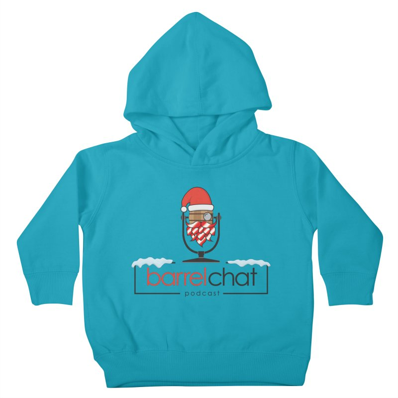 Barrel Chat Podcast - Christmas Kids Toddler Pullover Hoody by Barrel Chat Podcast Merch Shop