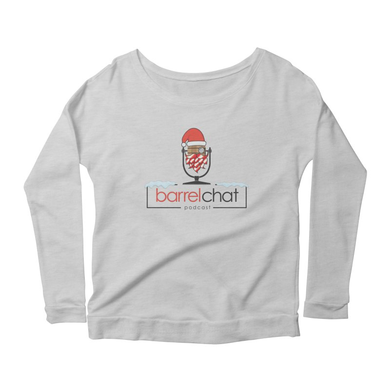Barrel Chat Podcast - Christmas Women's Scoop Neck Longsleeve T-Shirt by Barrel Chat Podcast Merch Shop