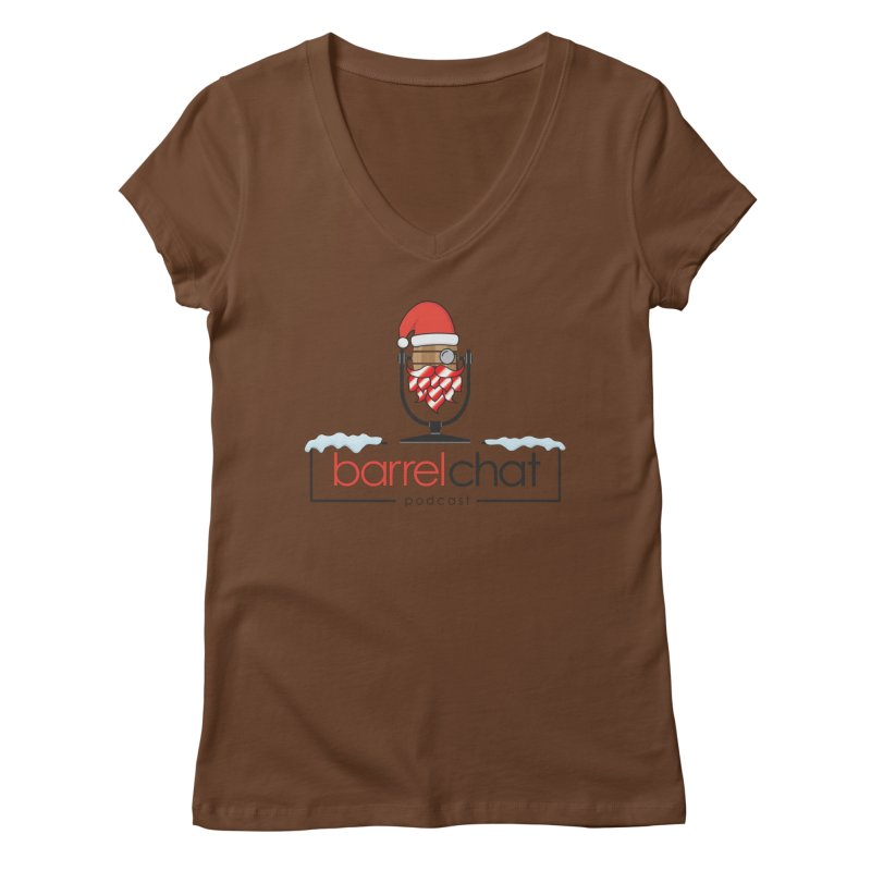 Barrel Chat Podcast - Christmas Women's Regular V-Neck by Barrel Chat Podcast Merch Shop