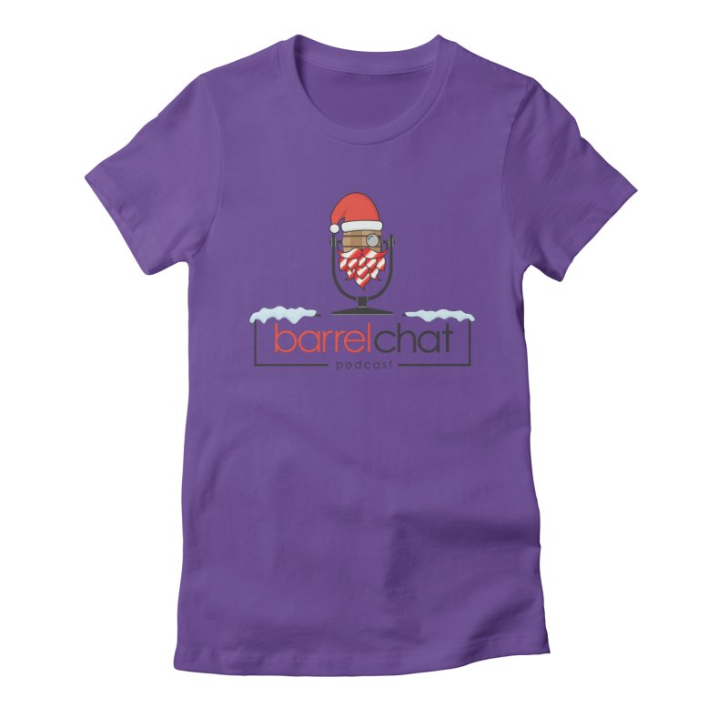 Barrel Chat Podcast - Christmas Women's Fitted T-Shirt by Barrel Chat Podcast Merch Shop