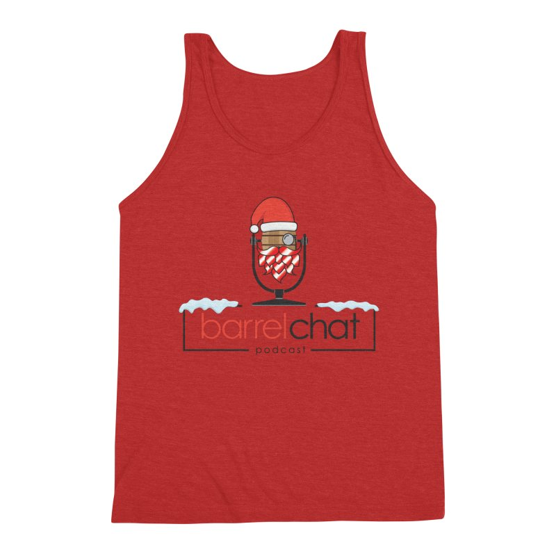 Barrel Chat Podcast - Christmas Men's Triblend Tank by Barrel Chat Podcast Merch Shop