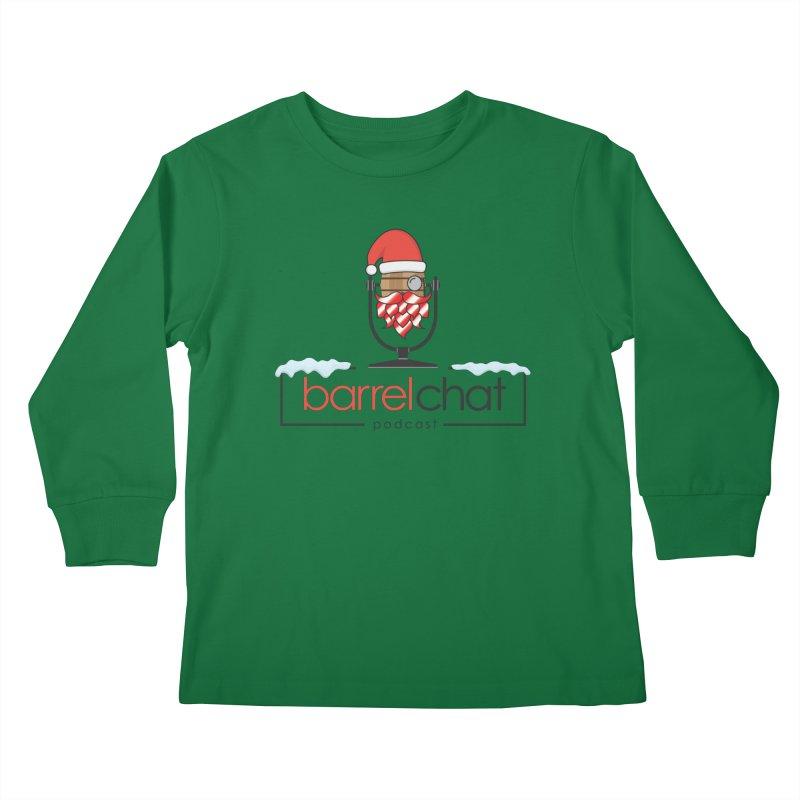 Barrel Chat Podcast - Christmas Kids Longsleeve T-Shirt by Barrel Chat Podcast Merch Shop