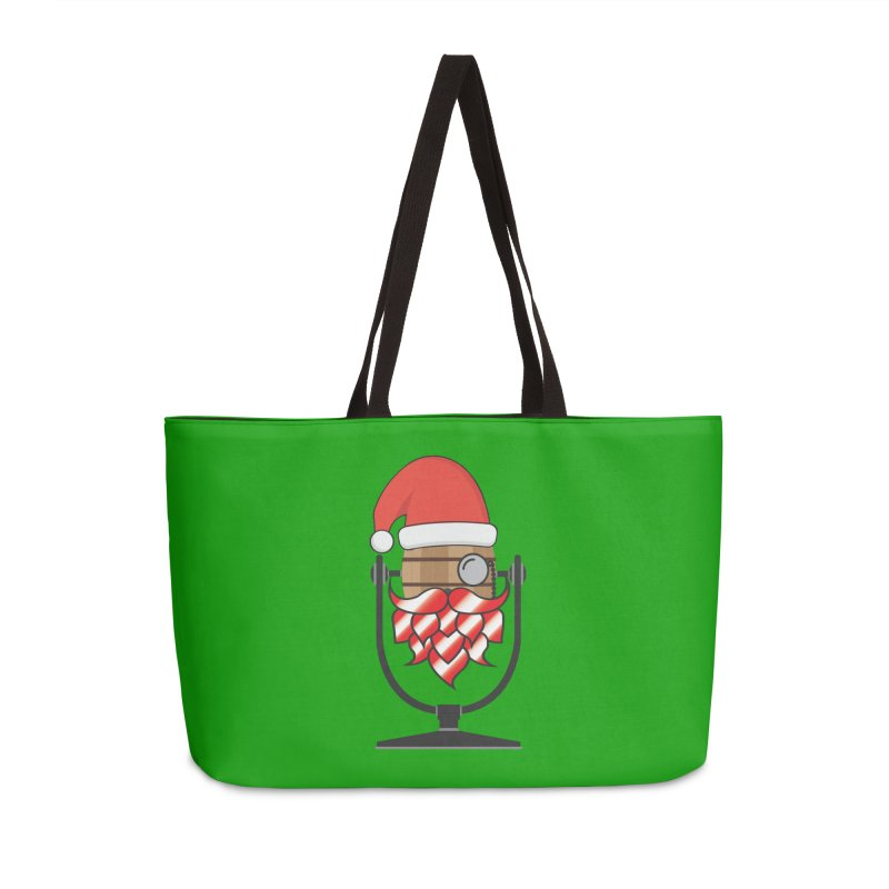 Christmas Hoppy Accessories Weekender Bag Bag by Barrel Chat Podcast Merch Shop