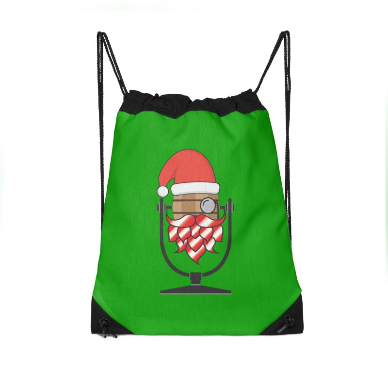 Christmas Hoppy Accessories Drawstring Bag Bag by Barrel Chat Podcast Merch Shop