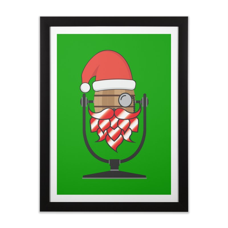 Christmas Hoppy Home Framed Fine Art Print by Barrel Chat Podcast Merch Shop