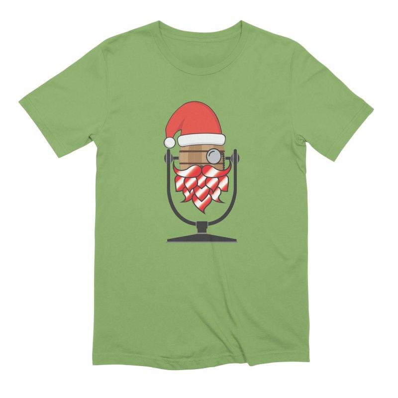 Christmas Hoppy Men's Extra Soft T-Shirt by Barrel Chat Podcast Merch Shop
