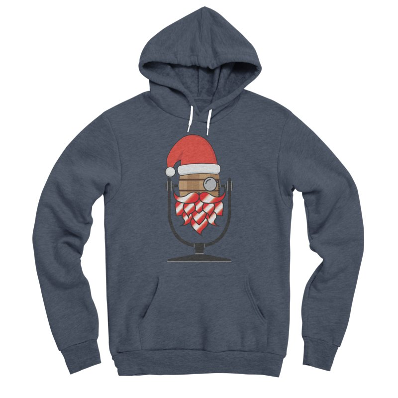Christmas Hoppy Women's Sponge Fleece Pullover Hoody by Barrel Chat Podcast Merch Shop