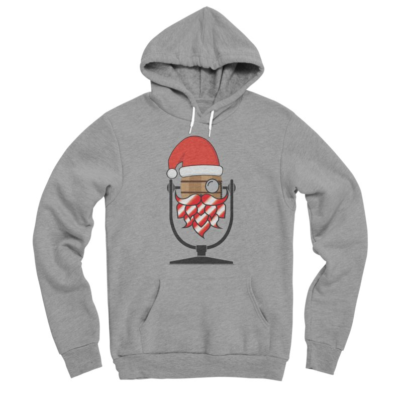 Christmas Hoppy Women's Sponge Fleece Pullover Hoody by Barrel Chat Podcast Merch Shop