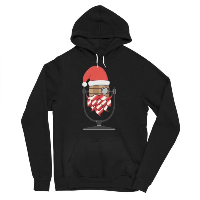 Christmas Hoppy Men's Sponge Fleece Pullover Hoody by Barrel Chat Podcast Merch Shop