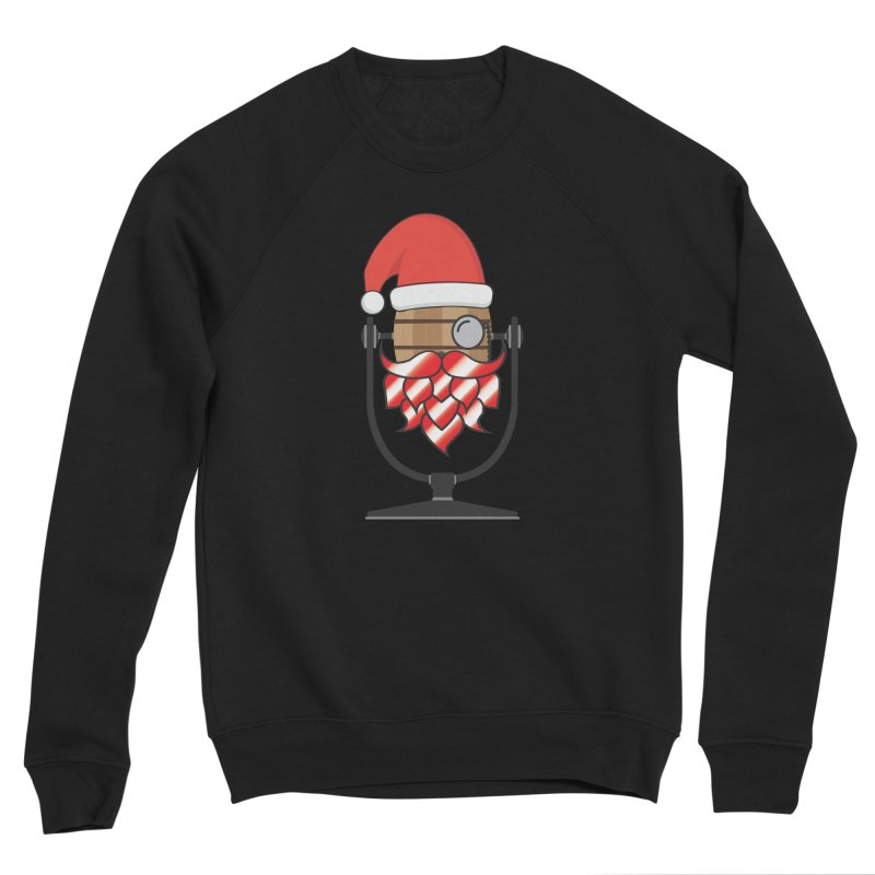 Christmas Hoppy Men's Sponge Fleece Sweatshirt by Barrel Chat Podcast Merch Shop