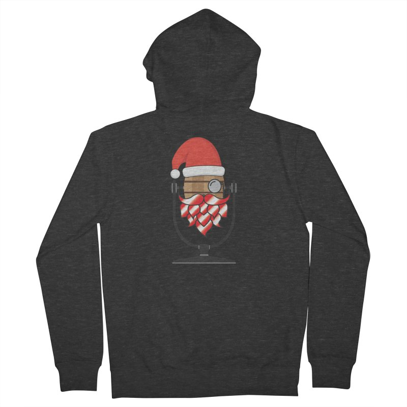 Christmas Hoppy Women's French Terry Zip-Up Hoody by Barrel Chat Podcast Merch Shop