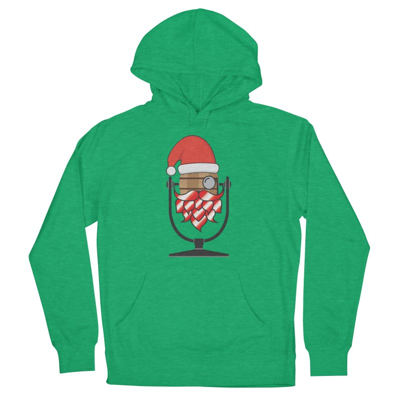 Christmas Hoppy Women's French Terry Pullover Hoody by Barrel Chat Podcast Merch Shop