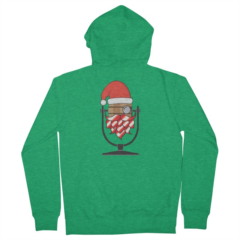 Christmas Hoppy Women's Zip-Up Hoody by Barrel Chat Podcast Merch Shop