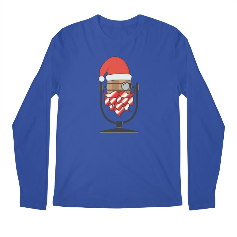 Christmas Hoppy Men's Regular Longsleeve T-Shirt by Barrel Chat Podcast Merch Shop