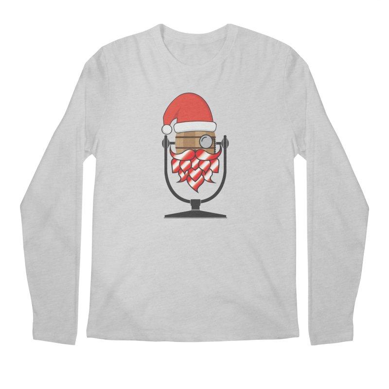 Christmas Hoppy Men's Regular Longsleeve T-Shirt by Barrel Chat Podcast Merch Shop