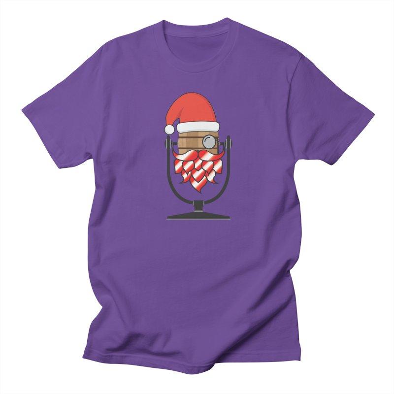 Christmas Hoppy Men's Regular T-Shirt by Barrel Chat Podcast Merch Shop
