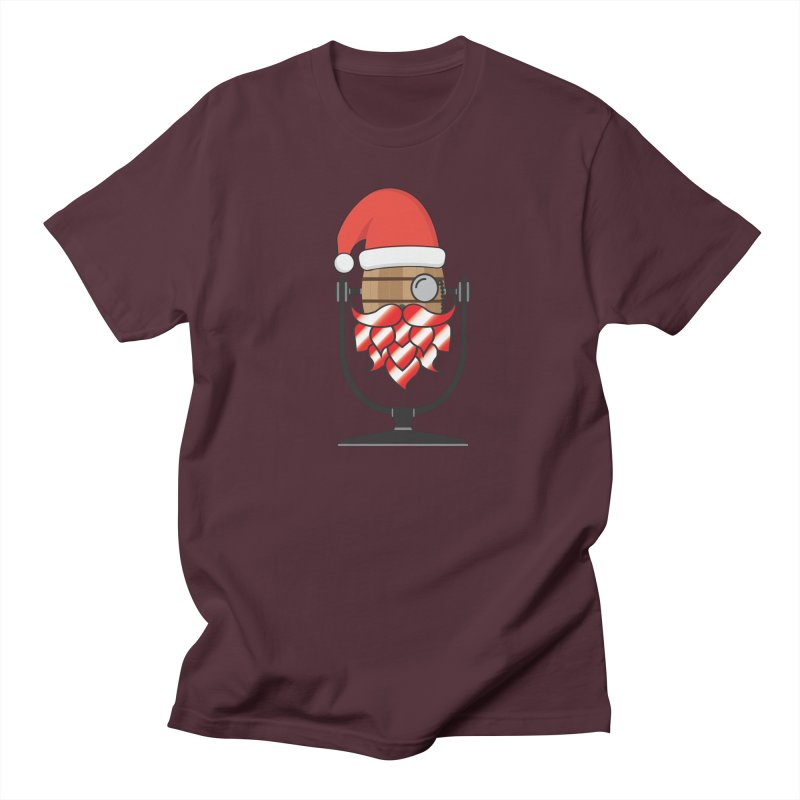 Christmas Hoppy Women's Regular Unisex T-Shirt by Barrel Chat Podcast Merch Shop