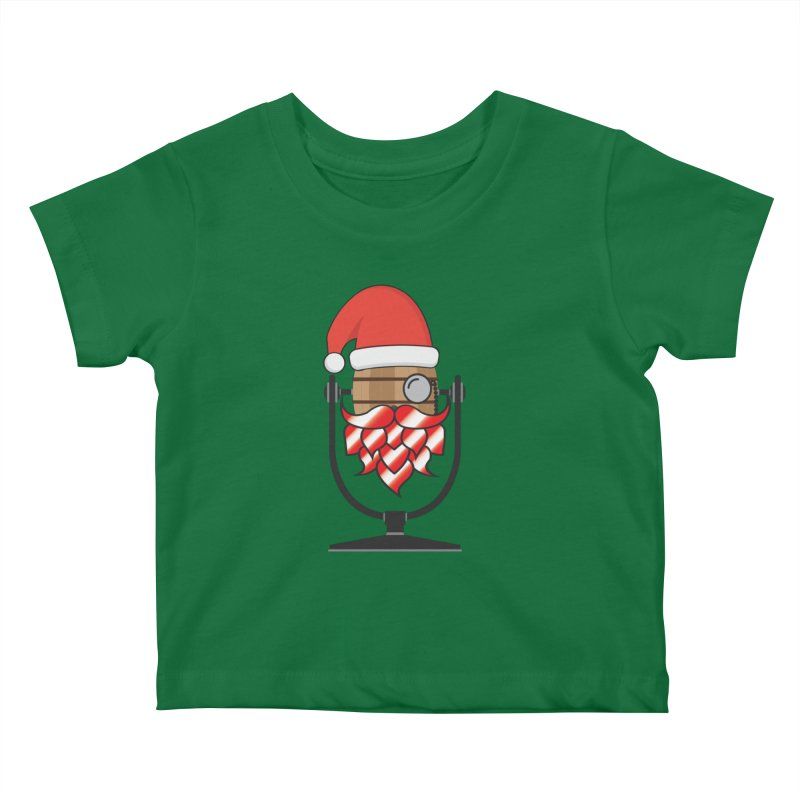 Christmas Hoppy Kids Baby T-Shirt by Barrel Chat Podcast Merch Shop