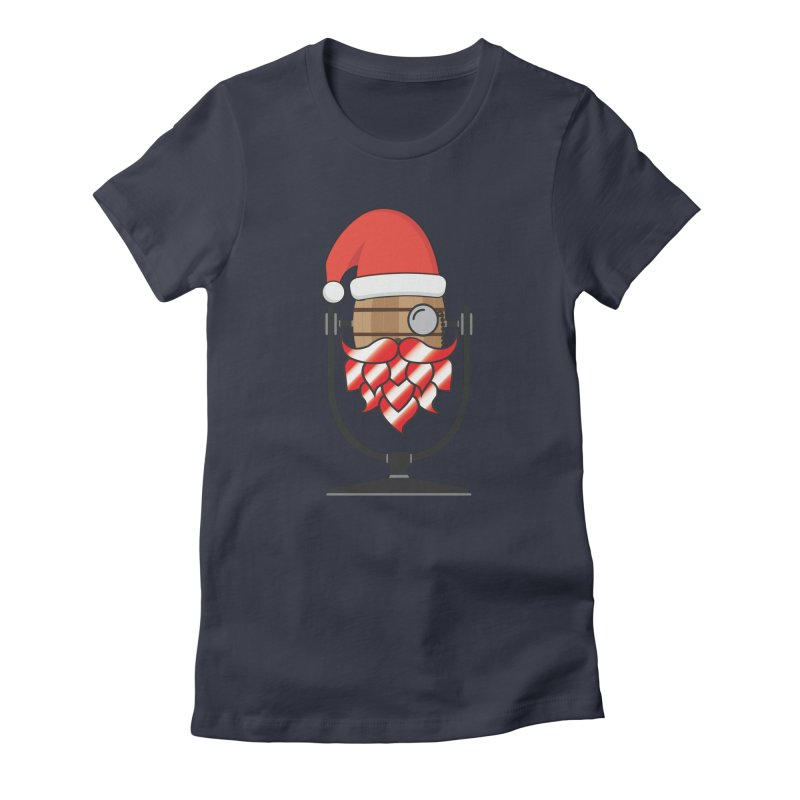 Christmas Hoppy Women's T-Shirt by Barrel Chat Podcast Merch Shop