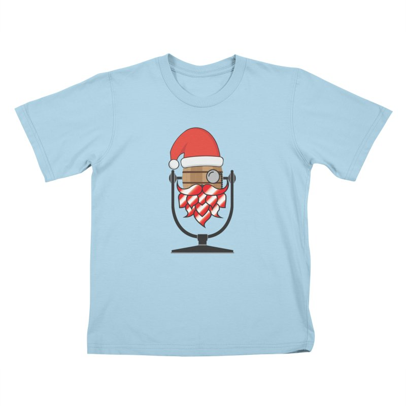 Christmas Hoppy Kids T-Shirt by Barrel Chat Podcast Merch Shop