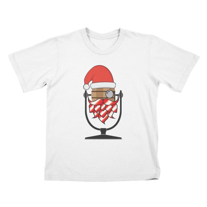 Christmas Hoppy Kids T-Shirt by Barrel Chat Podcast Merch Shop