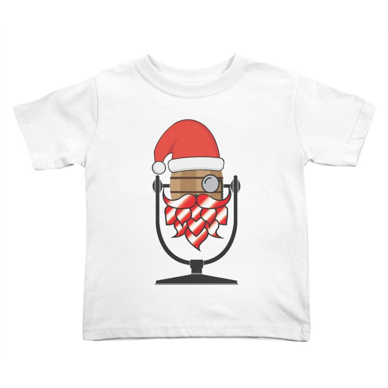Christmas Hoppy Kids Toddler T-Shirt by Barrel Chat Podcast Merch Shop