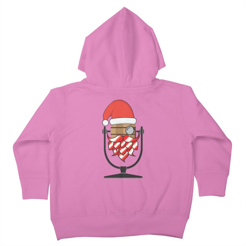 Christmas Hoppy Kids Toddler Zip-Up Hoody by Barrel Chat Podcast Merch Shop