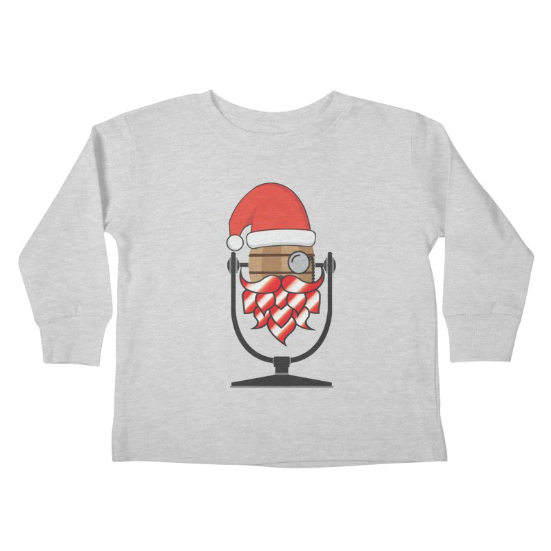 Christmas Hoppy Kids Toddler Longsleeve T-Shirt by Barrel Chat Podcast Merch Shop