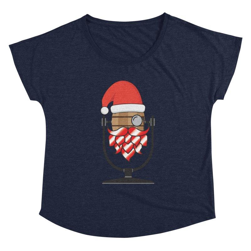 Christmas Hoppy Women's Dolman Scoop Neck by Barrel Chat Podcast Merch Shop