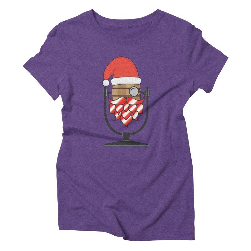 Christmas Hoppy Women's Triblend T-Shirt by Barrel Chat Podcast Merch Shop