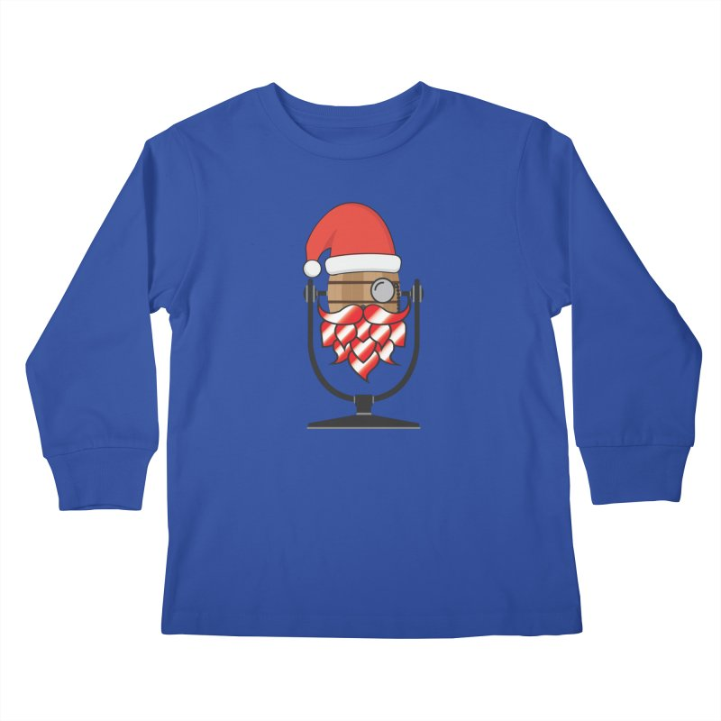 Christmas Hoppy Kids Longsleeve T-Shirt by Barrel Chat Podcast Merch Shop