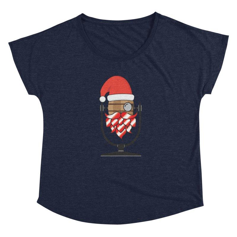 Christmas Hoppy Women's Scoop Neck by Barrel Chat Podcast Merch Shop
